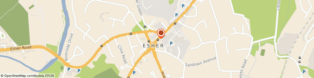 Route/map/directions to John D Wood & Co Estate Agents Esher, KT10 9RQ Esher, 53 High Street