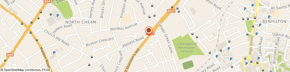 Route/map/directions to George Lim And Company Limited, SM3 9TA Sutton, 26 ABBOTTS ROAD