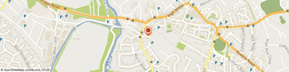 Route/map/directions to PURE PLUMBING LIMITED, KT13 8DH Weybridge, The Quadrant Centre Limes Road