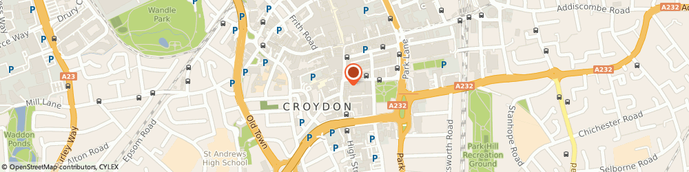 Route/map/directions to Smartum Pro, CR0 1QD London, 45 High Street