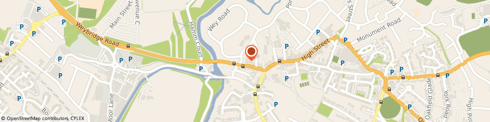Route/map/directions to Norfolk House Care Home, KT13 8HQ Weybridge, 39 Portmore Park Road