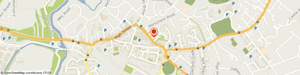Route/map/directions to The Grotto Inn, KT13 8RJ Weybridge, MONUMENT HILL
