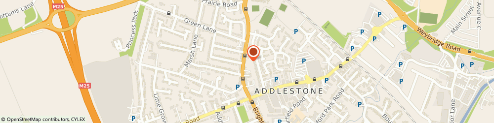 Route/map/directions to Boyde And Partners Veterinary Surgeons, KT15 1TR Addlestone, 40 HIGH STREET