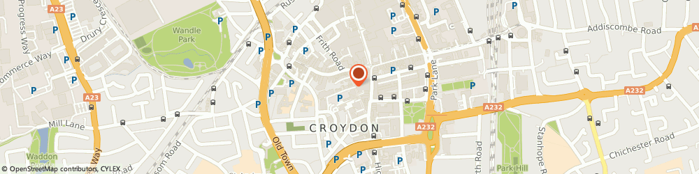 Route/map/directions to Marc Jason Shoeworld, CR0 1RG Croydon, 7 Surrey St
