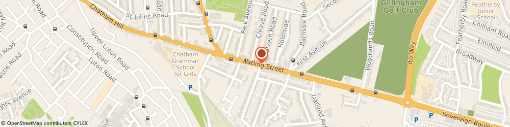 Route/map/directions to Direct Fire Protection, ME7 2YN Gillingham, 52 WATLING ST