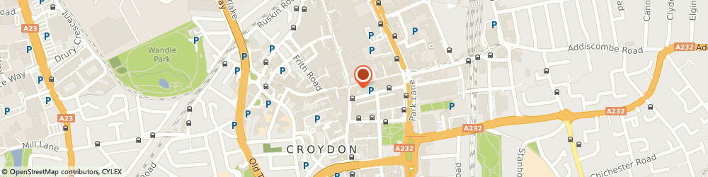 Route/map/directions to NatWest - CROYDON ATM, CR9 1PD Croydon, 1 High Street