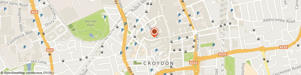 Route/map/directions to Shoe Zone, CR0 1RB Croydon, 50/52 Church Street