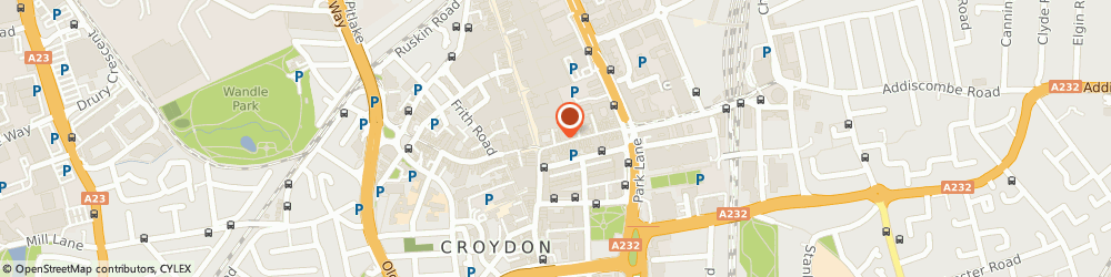 Route/map/directions to Townends Estate Agents, CR0 1LA Croydon, 3 George Street