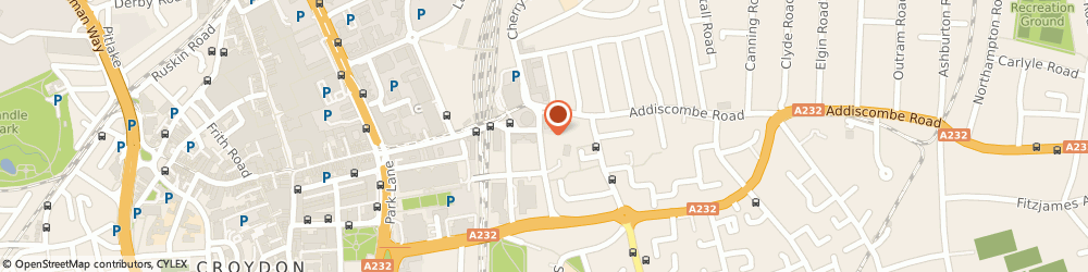 Route/map/directions to Rhodes Care Home Ltd, CR9 5AY Croydon, 30 ADDISCOMBE GROVE