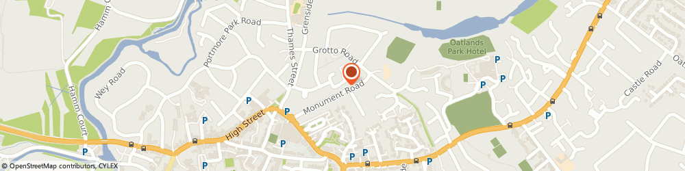 Route/map/directions to Surrey Personal Training, KT13 8NT Weybridge, gateway
