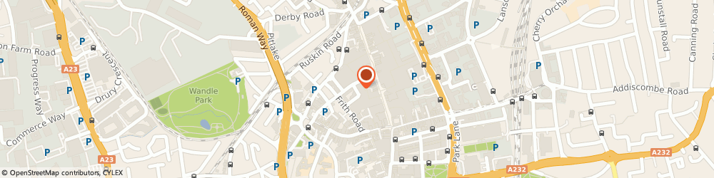 Route/map/directions to NatWest - CROYDON ATM, CR0 1TY Croydon, Centrale Shopping Centre