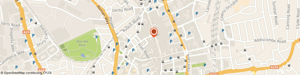 Route/map/directions to Natwest, CR0 1TY Croydon, Unit 26 Centrale, 21 North End