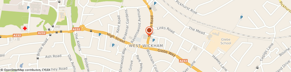 Route/map/directions to Sainsbury's, BR4 0PU West Wickham, 76 Station Road