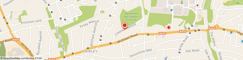 Route/map/directions to The Gardeners, CR0 8DE Croydon, 5 CHESTON AVENUE
