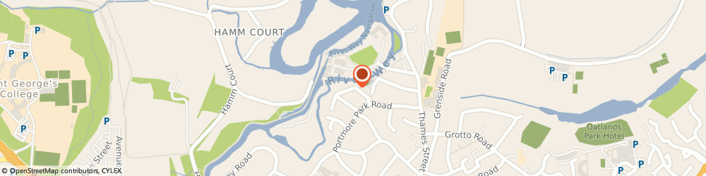 Route/map/directions to Education Support & Training, KT13 8JU Weybridge, 36 RADNOR ROAD
