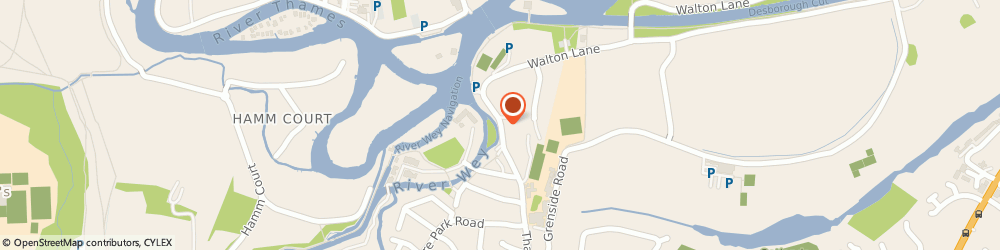 Route/map/directions to The Minnow, KT13 8NG Weybridge, 104 Thames Street