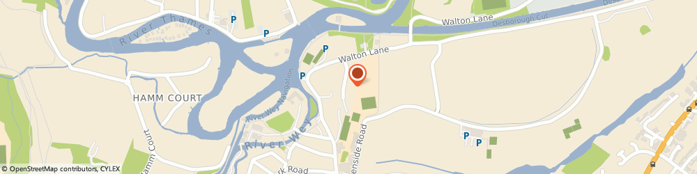 Route/map/directions to Aspect Systems Limited, KT13 8NE Weybridge, 14 DORNEY GROVE