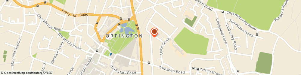 Route/map/directions to Create Face Painting, BR5 4JS Orpington, 25 Kynaston Rd