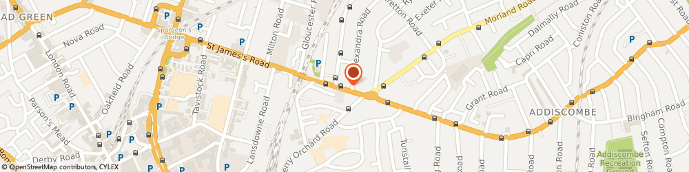Route/map/directions to Onyx Eco Cleaning, CR0 6PQ Croydon, 35 Lower Addiscombe Road