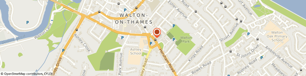 Route/map/directions to Curchods Lettings Walton, KT12 1DJ Walton-On-Thames, 63 High Street