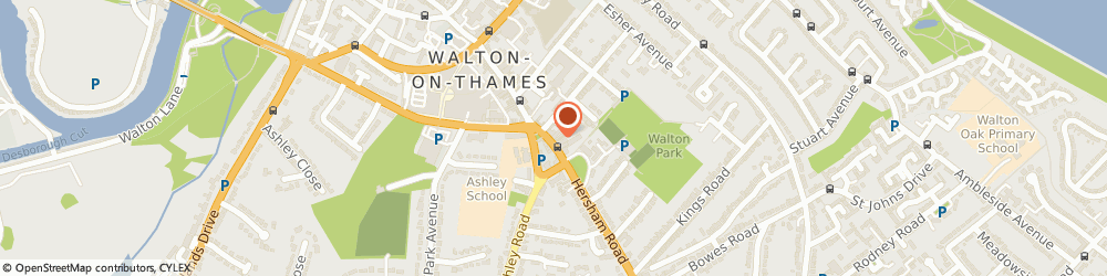 Route/map/directions to Curchods Estate Agents, KT12 1DN Walton-On-Thames, 79, High Street