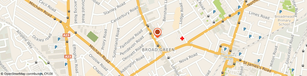 Route/map/directions to Locate Mortgages, CR0 2SU Croydon, London Road