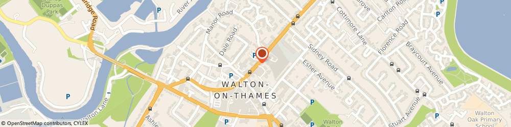 Route/map/directions to Curtisward Ltd, KT12 2QP Walton-On-Thames, 15, CHURCH STREET