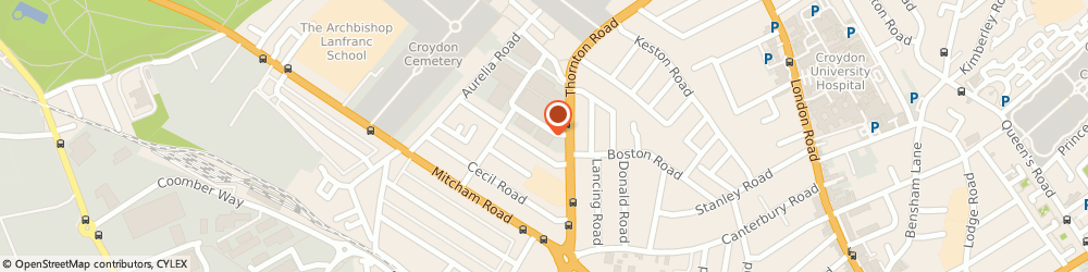 Route/map/directions to G Desserts, CR0 3EX Croydon, Croydon House, 1 Peall Road