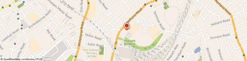 Route/map/directions to C K Financial Services, SE25 6LW London, 12 CHERITON COURT SELHURST RD