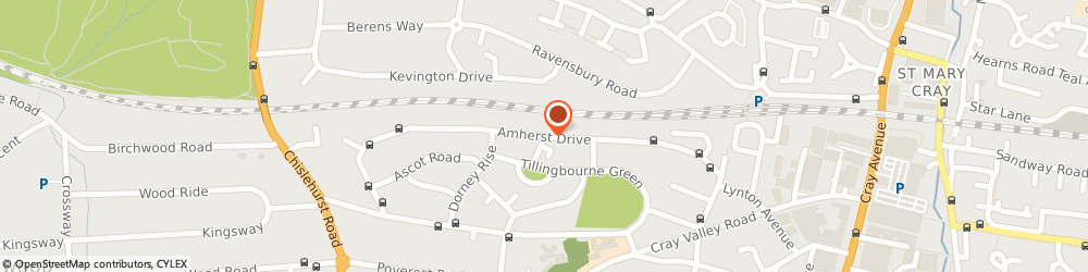Route/map/directions to The Key Locksmith, BR5 2ER Orpington, 37 Amherst Dr