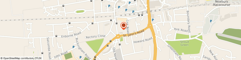Route/map/directions to Clearview, RG14 7BL Newbury, 22 Newtown Rd