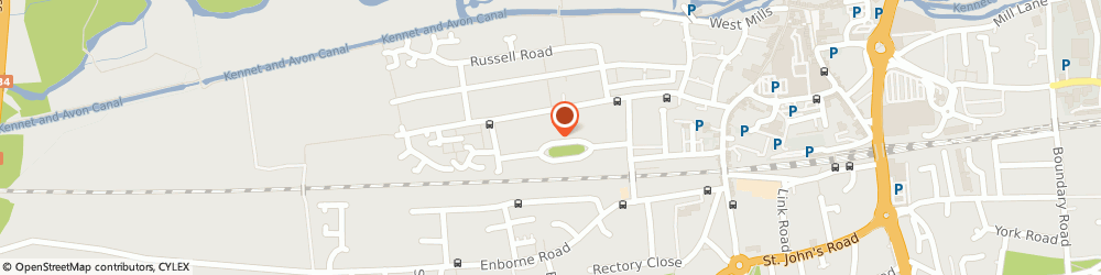 Route/map/directions to W. S. Painting & Decorating, RG14 5NX Newbury, 43 St George s Ave