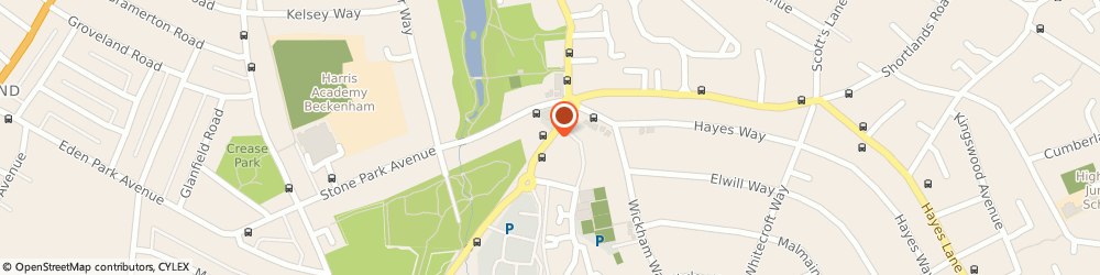 Route/map/directions to Signature at Beckenham, BR3 3AT Beckenham, South Eden Park Road