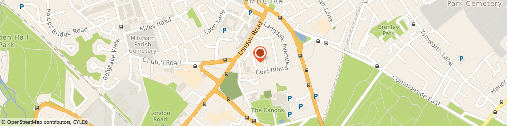 Route/map/directions to Floor Sanding Mitcham, CR4 4NS London, 13 Kingsleigh Place
