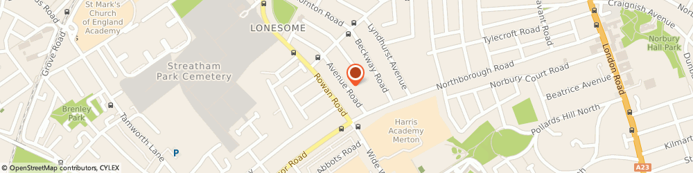 Route/map/directions to Excalibir Chauffeur Services, SW16 4HL London, 38 Avenue Road