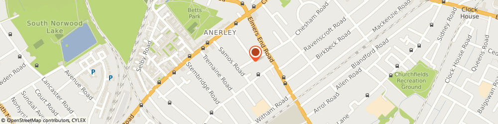 Route/map/directions to Keith Cutting Photography, SE20 7SP London, 22 Bourdon Rd
