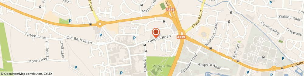 Route/map/directions to Analog Devices Ltd, RG14 1LA Newbury, London Rd, Dower House