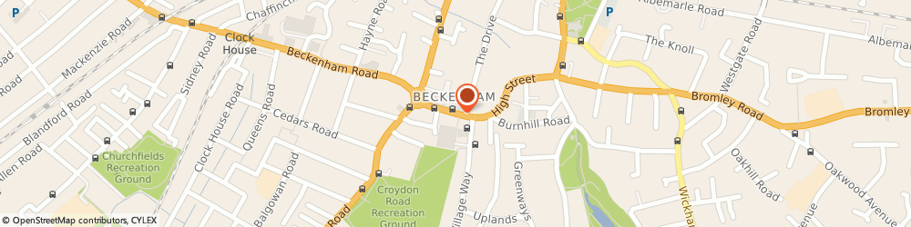 Route/map/directions to Paddy Power Bookmaker, BR3 1AH Beckenham, 179 High Street