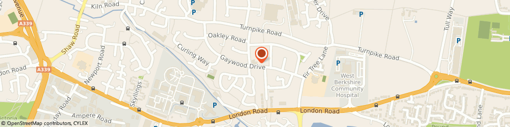 Route/map/directions to Avon Fish Bar, RG14 2PR Newbury, 77 Gaywood Dr