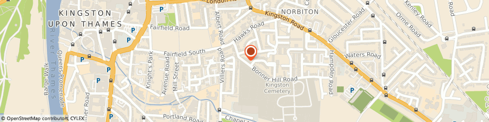 Route/map/directions to M A R C O - Modern Magic, KT1 3ES Kingston Upon Thames, 23 Bonner Hill Road