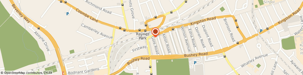 Route/map/directions to London Cycles, SW20 8BA London, 57 Approach Rd
