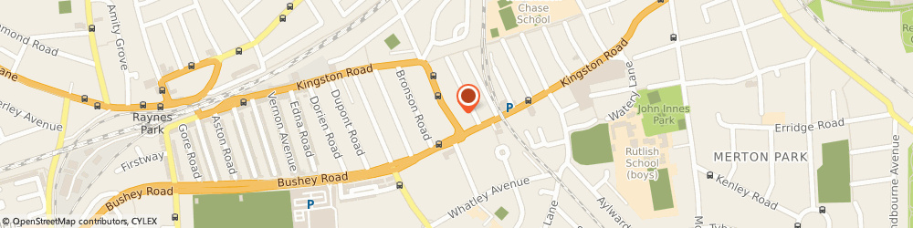 Route/map/directions to London & Surrey Gas Services, SW20 8JR London, 423 Kingston Road