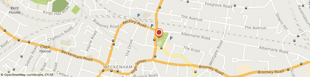Route/map/directions to DOMINO, BR3 1AY Beckenham, 36 High Street