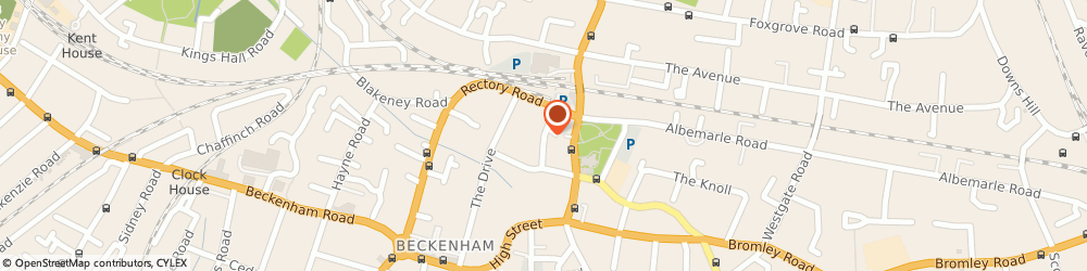 Route/map/directions to ALPHA TRAINING CONSULTANCY LIMITED, BR3 1DU Beckenham, 25 The Crescent