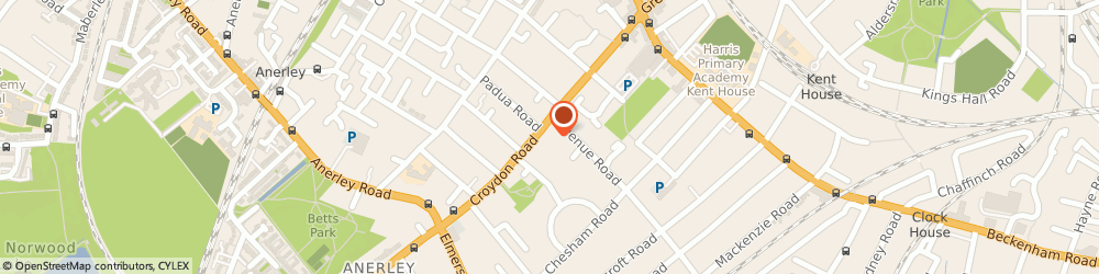 Route/map/directions to Directlink Chauffeur Services, SE20 7TS London, 63 Croydon Rd