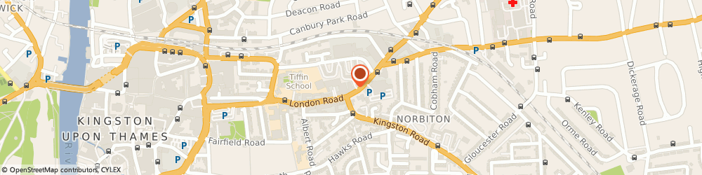 Route/map/directions to Travel Republic, KT2 6NH Kingston Upon Thames, 147 London Rd