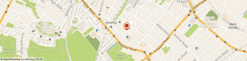 Route/map/directions to Leaflet Distribution, SE20 8LX London, 8 Chartwell Way
