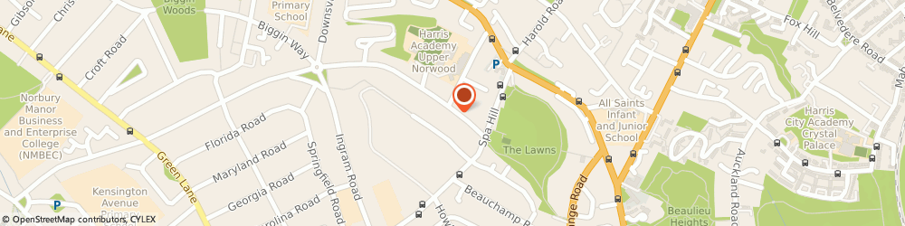 Route/map/directions to PLUMB ENGINEERS LIMITED, SE19 3UA London, 96 Waddington Way