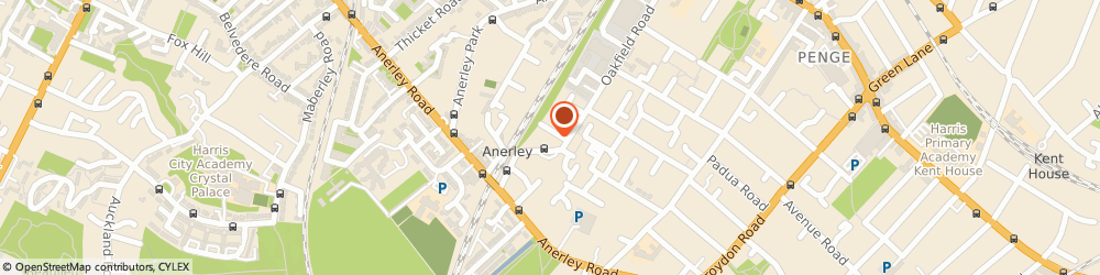 Route/map/directions to Safestore Self Storage Crystal Palace, SE20 8QA London, 1 Oakfield Road