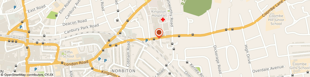 Route/map/directions to Omtool Europe, KT2 7AZ Kingston Upon Thames, 76 COOMBE RD